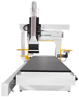Scarlett 5 Axis G Series CNC Router front
